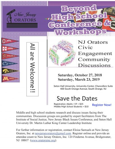 NJO Beyond High School Conference 100318