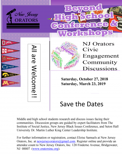 NJO Beyond High School Conference SavetheDate_082118